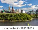parliament hill  ottawa ... | Shutterstock . vector #101938219