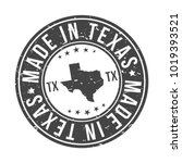 made in texas state usa quality ...   Shutterstock .eps vector #1019393521
