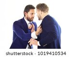 manager and director fighting.... | Shutterstock . vector #1019410534