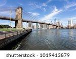 The Famous Brooklyn Bridge ...