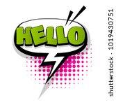 hello  hi  hey hand drawn...   Shutterstock .eps vector #1019430751