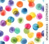 confetti. kids pattern. polka... | Shutterstock . vector #1019434114