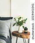 trendy scandinavian style... | Shutterstock . vector #1019441041