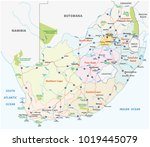 south africa road ... | Shutterstock .eps vector #1019445079