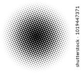 halftone element. abstract... | Shutterstock .eps vector #1019447371