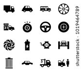 origami style icon set   car... | Shutterstock .eps vector #1019464789