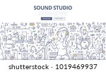 doodle vector illustration of a ... | Shutterstock .eps vector #1019469937