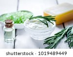 natural essential aroma oil... | Shutterstock . vector #1019489449