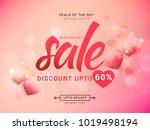 illustration of valentines day ...   Shutterstock .eps vector #1019498194