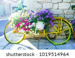 charming street decoration  ... | Shutterstock . vector #1019514964