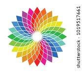 color wheel palette   flower