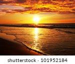 sea sunset | Shutterstock . vector #101952184