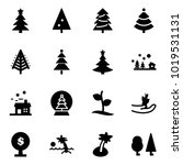 solid vector icon set  ... | Shutterstock .eps vector #1019531131