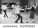 adult people practicing... | Shutterstock . vector #1019545669