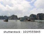 ha long city  vietnam  ... | Shutterstock . vector #1019555845