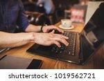 close up of business man hands...   Shutterstock . vector #1019562721