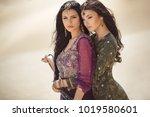 travel concept. adventure of... | Shutterstock . vector #1019580601