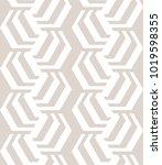 abstract geometric vector... | Shutterstock .eps vector #1019598355
