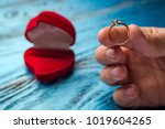 the offer to get married. a... | Shutterstock . vector #1019604265