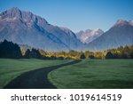 Chilean Patagonia Landscape In...