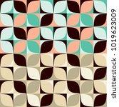 set abstract seamless pattern...   Shutterstock .eps vector #1019623009