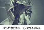 abstract mosaic vintage... | Shutterstock . vector #1019653531