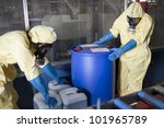 experts disposing infested... | Shutterstock . vector #101965789