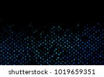 dark blue vector geometric... | Shutterstock .eps vector #1019659351