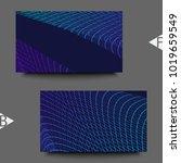 abstract communication network... | Shutterstock . vector #1019659549