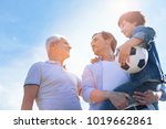 men day. low angle shot of a...   Shutterstock . vector #1019662861