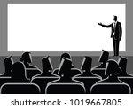 business concept illustration... | Shutterstock .eps vector #1019667805