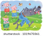Three Little Pigs. Fairy Tale....