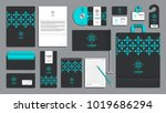 corporate identity branding... | Shutterstock .eps vector #1019686294