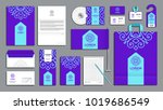corporate identity branding... | Shutterstock .eps vector #1019686549