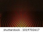 metal mesh grild. abstract 3d... | Shutterstock . vector #1019702617