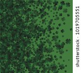 clover vector is a confetti... | Shutterstock .eps vector #1019705551