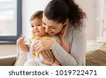 family  child and motherhood... | Shutterstock . vector #1019722471