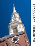 Small photo of Boston Congregational church tower