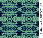 Bright Kaleidoscope Chevron...