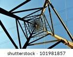 high voltage post | Shutterstock . vector #101981857