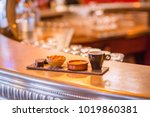 caf  gourmand coffe and... | Shutterstock . vector #1019860381