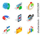 local area network icons set.... | Shutterstock .eps vector #1019901589