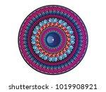 mandala  vector mandala  circle ... | Shutterstock .eps vector #1019908921