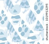 abstract trendy vector seamless ... | Shutterstock .eps vector #1019913295