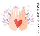 vector illustration of hand... | Shutterstock .eps vector #1019913301