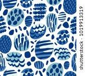 polka dot ornamental pattern... | Shutterstock .eps vector #1019913319