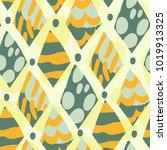 vector seamless pattern of... | Shutterstock .eps vector #1019913325