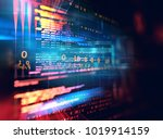 programming code abstract... | Shutterstock . vector #1019914159
