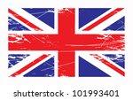 british union jack flag  vector ... | Shutterstock .eps vector #101993401