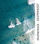 beach from above. seascape...   Shutterstock . vector #1019944237